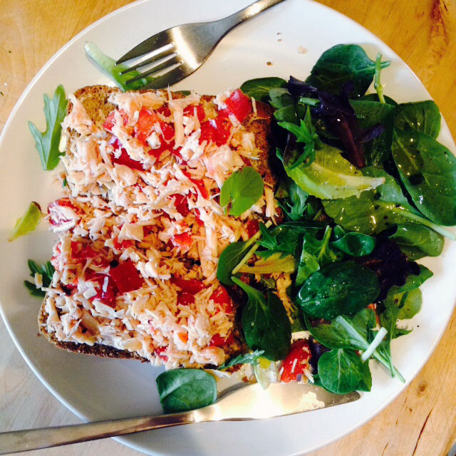 Chicken Salad Sandwich… Salad